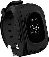 Умные часы детские Wise Q50 (черный) -