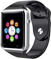 Умные часы Wise A1 (серебристый/черный) -