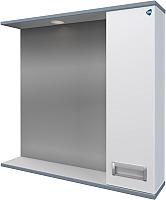 Шкаф с зеркалом для ванной АВН Лофт 80 / 62.23 (5) -