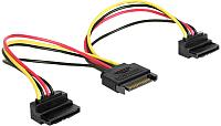 Сплиттер Cablexpert CC-SATAM2F-02 -