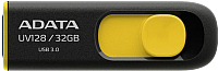 Usb flash накопитель A-data DashDrive UV128 Black/Yellow 32GB (AUV128-32G-RBY) -
