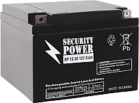 Батарея для ИБП Security Power SP 12-26 (12V/26Ah) -