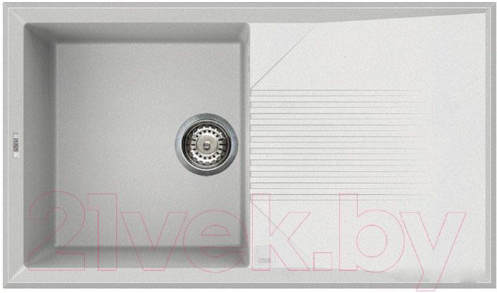 Купить Мойка кухонная Elleci, Tekno 400 (White 96), Италия, искусственный гранит