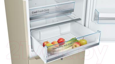 Холодильник с морозильником Bosch KGN39VK1MR