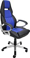 Кресло офисное Calviano Carrera NF-6623 (черный/синий) -