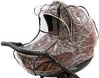 Дождевик для коляски Bambola Классика окошко 011В -