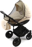 Москитная сетка для коляски Bambola Классика с окантовкой (черный) -