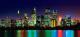 Фотообои Твоя планета Ночной город (291x136) -