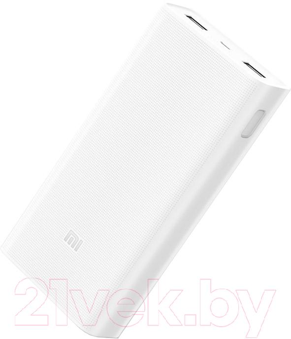 Купить Портативное зарядное устройство Xiaomi, Mi Power Bank 2C 20000mAh VXN4220GL / PLM06ZM (белый), Китай