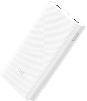 Портативное зарядное устройство Xiaomi Mi Power Bank 2C 20000mAh VXN4220GL / PLM06ZM (белый) -