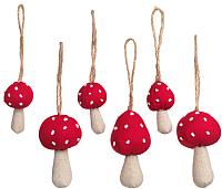 Набор ёлочных игрушек Ikea Винтер 303.628.58 (6шт) -
