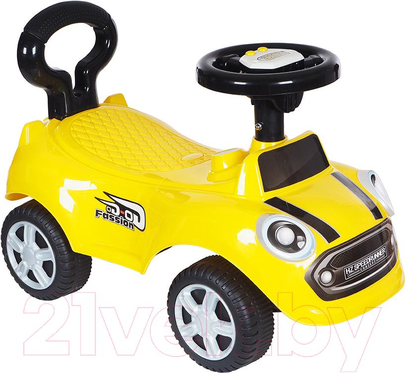 Купить Каталка детская Ningbo Prince, Мини Кар 616A (желтый), Китай, пластик