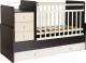 Детская кровать-трансформер Фея 1100 (венге/бежевый) -