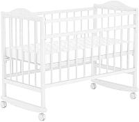 Детская кроватка Фея 204 (белый) -