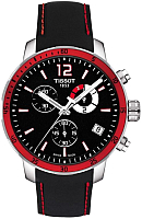 Часы наручные мужские Tissot Quickster Chrono Football T095.449.17.057.01 -