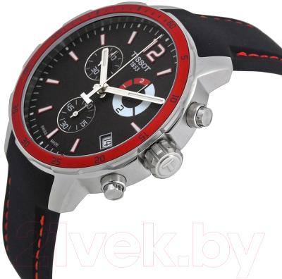 Часы наручные мужские Tissot Quickster Chrono Football T095.449.17.057.01