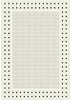 Циновка Balta Fondo 4840/060 (80x250, белый/черный) -