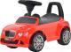 Каталка детская Chi Lok Bo Бентли 326R (красный) -
