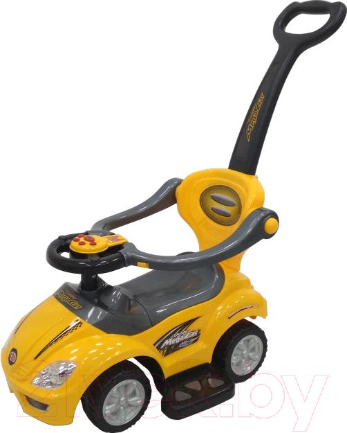 Купить Каталка детская Chi Lok Bo, Deluxe Mega Car 382Y (желтый), Китай, пластик
