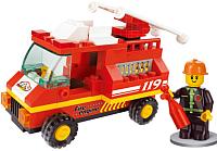 Конструктор Sluban Пожарная машина / M38-B0173 -