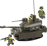 Конструктор Sluban Армия Танк M1A2-Абрамс / M38-B0287 -