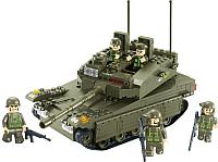 Конструктор Sluban Армия. Танк К1 / M38-B0305 -