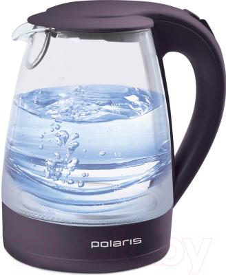 Электрочайник Polaris PWK 1767CGL (темно-фиолетовый)