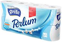Туалетная бумага Grite Perlum (8рул) -