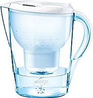Фильтр питьевой воды Brita Marella XL Cal (белый, + 3 картриджа) -