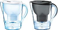 Фильтр питьевой воды Brita Marella XL белый + Marella XL графит -