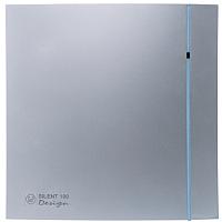 Вентилятор вытяжной Soler&Palau Silent-100 CRZ Silver Design / 5210602700 -