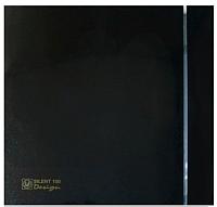 Вентилятор вытяжной Soler&Palau Silent-100 CZ Black Design - 4C / 5210607400 -