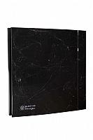 Вентилятор вытяжной Soler&Palau Silent-100 CZ Marble Black Design - 4C / 5210611900 -