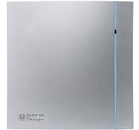 Вентилятор вытяжной Soler&Palau Silent-200 CRZ Silver Design - 3C / 5210606100 -
