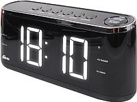 Радиочасы Ritmix RRC-1810 (черный) -