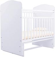 Детская кроватка Агат Золушка 10 (белый) -