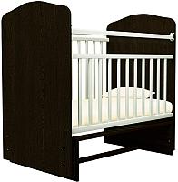 Детская кроватка Агат Золушка 10 (шоколад/слоновая кость) -