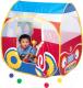 Детская игровая палатка Calida Автомобиль 654 (+ 100 шаров) -