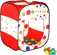 Детская игровая палатка Calida Квадрат 622 (+ 100 шаров) -