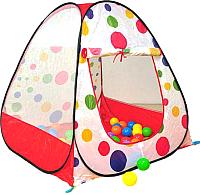 Детская игровая палатка Calida Конус 619 (+ 100 шаров) -