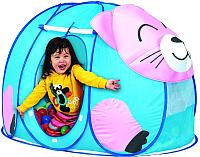 Детская игровая палатка Calida Котенок 669 (+ 100 шаров) -