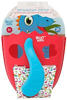 Органайзер детский для купания Roxy-Kids Dino / RTH-001R (коралловый) -