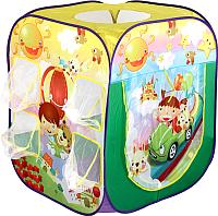 Детская игровая палатка Calida Путешественники 707 (+ 100 шаров) -