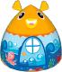 Детская игровая палатка Calida Рыбка 711 (+ 100 шаров) -