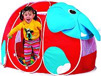 Детская игровая палатка Calida Слоник 666 (+ 100 шаров) -