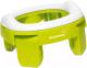 Детский горшок Roxy-Kids HandyPotty дорожный / HP-250GR (лайм) -