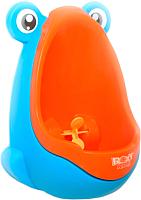 Детский писсуар Roxy-Kids С прицелом / RBP-2129 (синий/оранжевый) -