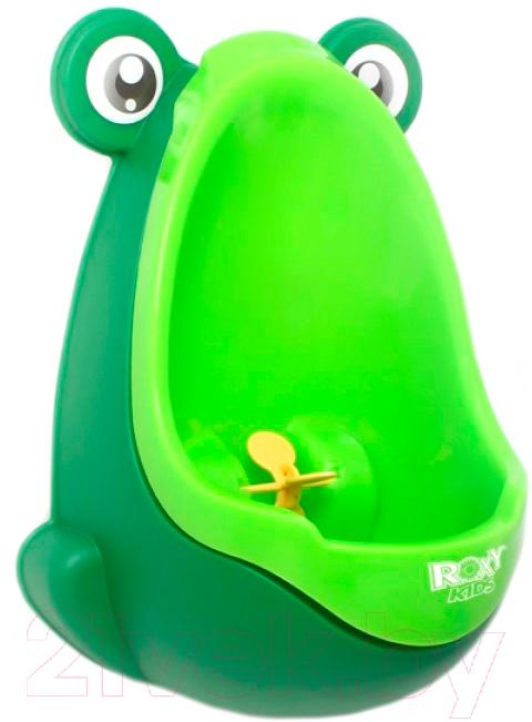 Купить Детский писсуар Roxy-Kids, С прицелом / RBP-2129 (зеленый/салатовый), Китай, пластик