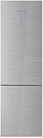 Холодильник с морозильником Daewoo RNV3310GCHS -