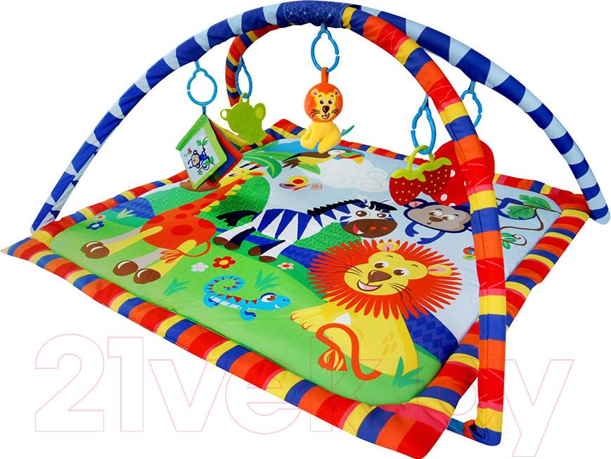 Купить Развивающий коврик La-di-da, Веселый Зоопарк PM-A-P00019, Китай